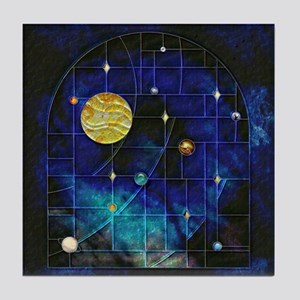 Harvest Moons Solar System Tile Coaster